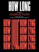 Cover icon of How Long sheet music for voice, piano or guitar by Charlie Puth and Justin Franks, intermediate