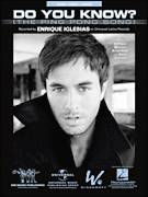 Cover icon of Do You Know? sheet music for voice, piano or guitar by Enrique Iglesias, Bryan Kidd and Sean Garrett, intermediate