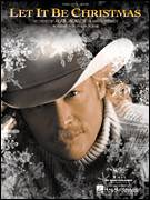 Cover icon of Let It Be Christmas sheet music for voice, piano or guitar by Alan Jackson, intermediate voice, piano or guitar