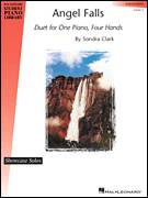 Cover icon of Angel Falls sheet music for piano four hands (duets) by Sondra Clark and Miscellaneous, intermediate