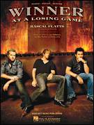 Cover icon of Winner At A Losing Game sheet music for voice, piano or guitar by Rascal Flatts and Jay DeMarcus, intermediate voice, piano or guitar