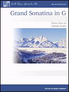 Cover icon of Grand Sonatina In G sheet music for piano solo (elementary) by Glenda Austin, classical score, beginner piano (elementary)