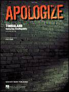 Cover icon of Apologize sheet music for piano solo by Timbaland featuring OneRepublic, OneRepublic, Timbaland and Ryan Tedder, easy skill level