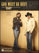 Cover icon of God Must Be Busy sheet music for voice, piano or guitar by Brooks & Dunn, intermediate voice, piano or guitar