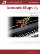 Cover icon of Romantic Rhapsody sheet music for piano solo (elementary) by Glenda Austin, beginner piano (elementary)