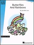 Cover icon of Butterflies And Rainbows sheet music for piano solo (elementary) by Jennifer Linn and Miscellaneous, beginner piano (elementary)