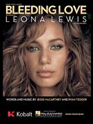 Cover icon of Bleeding Love sheet music for voice, piano or guitar by Leona Lewis, Jesse McCartney and Ryan Tedder, intermediate