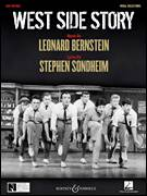 Cover icon of America sheet music for voice, piano or guitar by Leonard Bernstein, West Side Story (Musical) and Stephen Sondheim, intermediate skill level