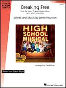 Cover icon of Breaking Free sheet music for piano solo (elementary) by High School Musical, Carol Klose, Miscellaneous and Jamie Houston, beginner piano (elementary)