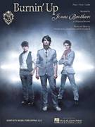 Cover icon of Burnin' Up sheet music for voice, piano or guitar by Jonas Brothers and Nicholas Jonas, intermediate voice, piano or guitar