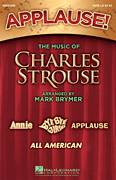 Cover icon of Applause! - The Music of Charles Strouse (complete set of parts) sheet music for orchestra/band (chamber ensemble) by Charles Strouse, Lee Adams and Mark Brymer