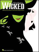 Cover icon of No One Mourns The Wicked sheet music for voice, piano or guitar by Stephen Schwartz, intermediate