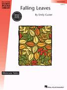 Cover icon of Falling Leaves sheet music for piano solo (elementary) by Emily Custer, beginner piano (elementary)