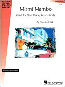 Cover icon of Miami Mambo sheet music for piano four hands by Sondra Clark, intermediate skill level