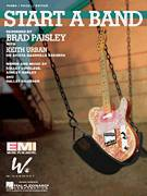 Cover icon of Start A Band sheet music for voice, piano or guitar by Brad Paisley, Brad Paisley featuring Keith Urban, Keith Urban, Ashley Gorley, Dallas Davidson and Kelley Lovelace, intermediate skill level