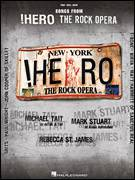 Cover icon of He's Not Here sheet music for voice, piano or guitar by Nathan Lee, !Hero: The Rock Opera (Musical), Bob Farrell and Eddie DeGarmo, intermediate skill level