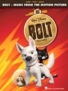 Cover icon of A Real Live Superbark sheet music for piano solo by John Powell and Bolt (Movie), intermediate skill level