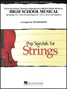 Cover icon of High School Musical (COMPLETE) sheet music for orchestra by Ted Ricketts