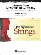 Cover icon of Themes from Memoirs of a Geisha (COMPLETE) sheet music for orchestra by John Williams and Ted Ricketts