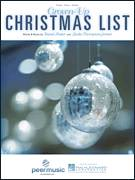 Cover icon of Grown-Up Christmas List sheet music for voice, piano or guitar by Amy Grant, David Foster and Linda Thompson-Jenner