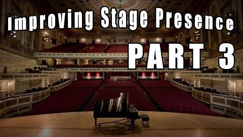 Tips for Improving Stage Presence - Never Show Your Mistakes