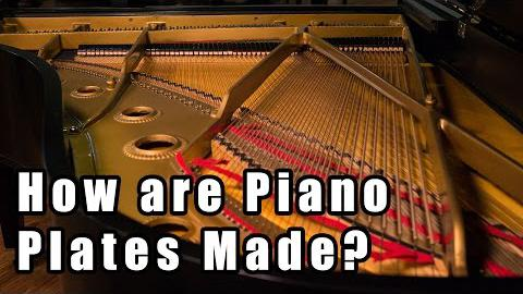 How are Piano Plates Made?