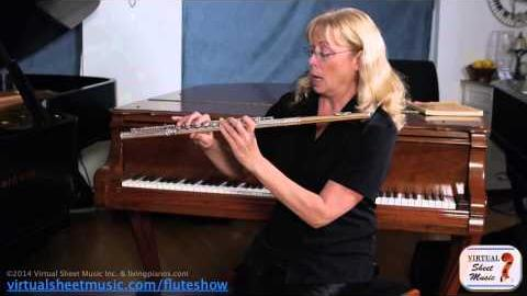 How to put a flute together