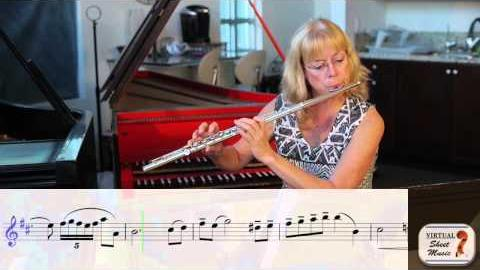 How to change octaves on the flute, part 2