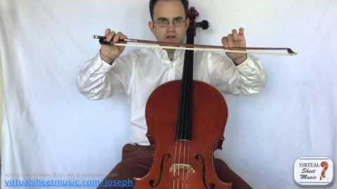 Pull vs Push on the Cello