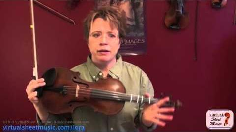 "How to apply open strings ""drones"" to fiddle tunes"