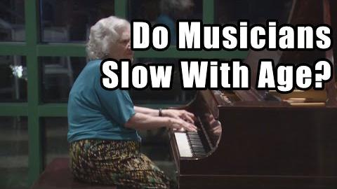 Do Musicians Slow With Age?