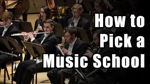 How to Choose a Music School