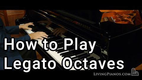 How to Play Legato Octaves