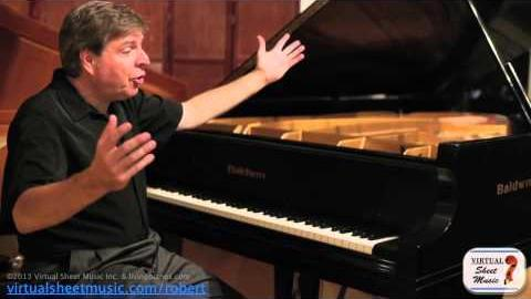 How to interpret Baroque Music on a piano