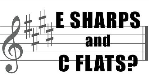 Why do they write E sharps and C flats?
