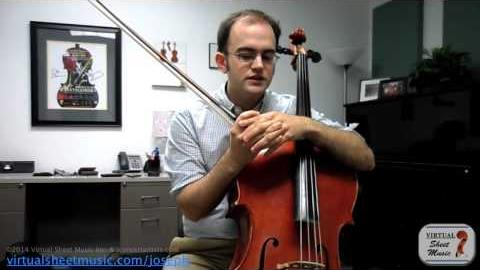How to achieve the best tone on the cello.