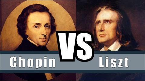 The Differences and Similarities Between Chopin and Liszt