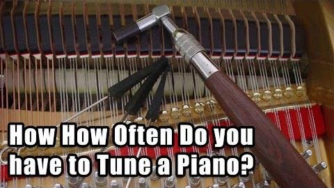 How Often Do you have to Tune a Piano?