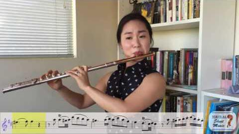 How to play play Mozart's Flute Concerto #2