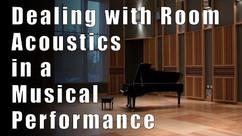 How to Adapt to Room Acoustics in a Musical Performance