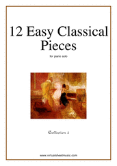 Cover icon of Easy Classical Pieces (coll.2) sheet music for piano solo, classical score, easy piano