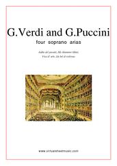 Four Soprano Arias, Coll.1