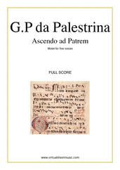 Ascendo ad Patrem (complete)