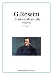 Il Barbiere di Siviglia, Overture (parts)