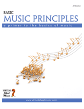 Cover icon of Basic Music Principles sheet music for learning the basics of music by Fabrizio Ferrari, beginner learning the basics of music