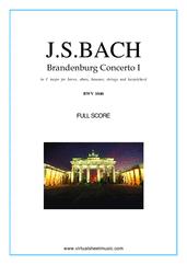 Brandenburg Concerto I (komplett)