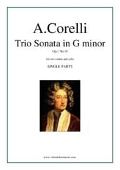 Trio Sonata in G minor Op.1 No.10 (parts)