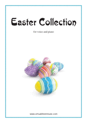 Cover icon of Easter Collection - Easter Hymns and Tunes sheet music for piano, voice or other instruments, easy