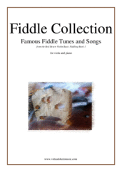 Cover icon of Fiddle Collection, Famous Fiddle Tunes sheet music for viola and piano, easy skill level