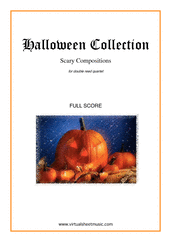 Cover icon of Halloween Sheet Music (f.score) for double reed quartet, classical score, intermediate/advanced